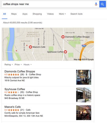 google local profile