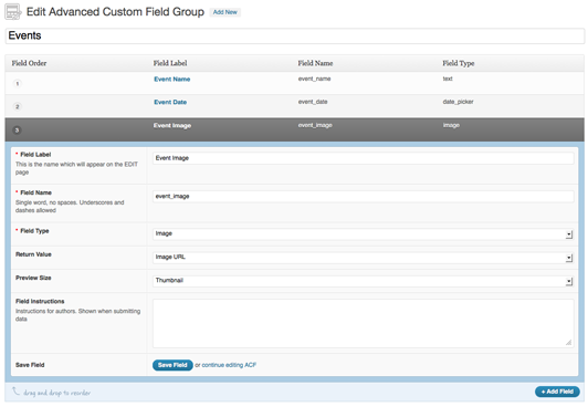 acf plugin screenshot