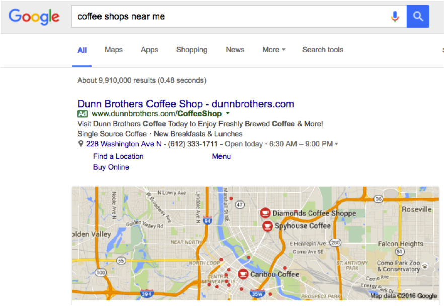 google results discrepancies