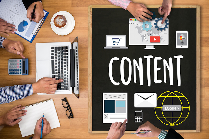 Content marketing at a digital agency